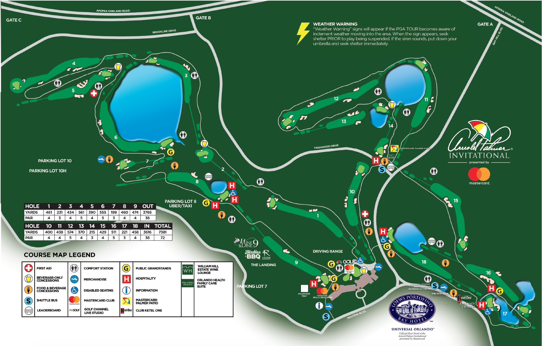 2018 Course Map